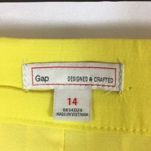 GAP Skirts - Gap Soft Pleat Mini Skirt in Bright Yellow